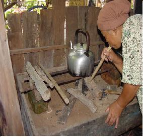 Jenis Dapur Kayu